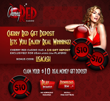 Cherry red casino no deposit codes moes casino and gambling site